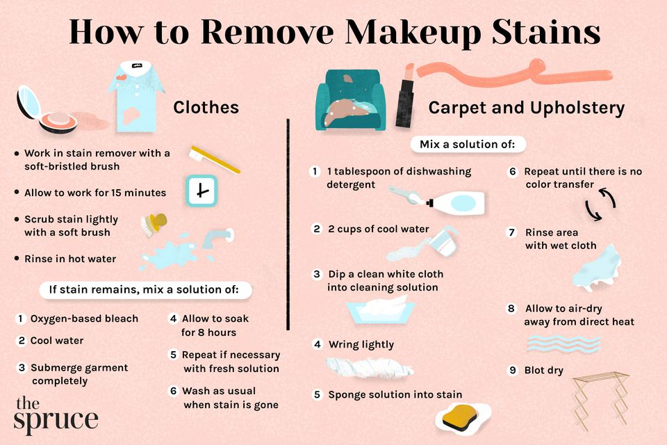 How to Remove Makeup Stains