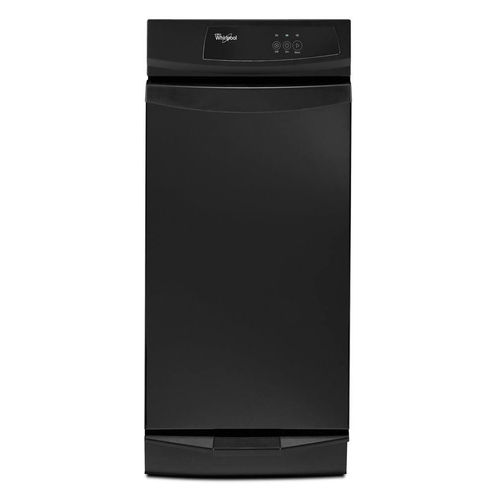Whirlpool 15 in. Convertible Trash Compactor in Black