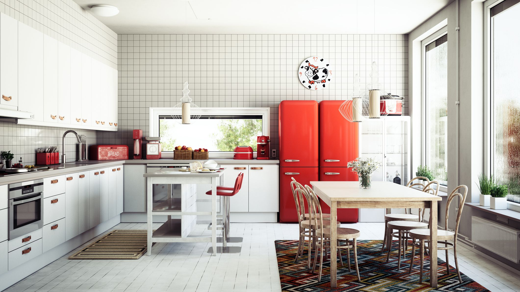 How To Pick The Color Of Your Kitchen Appliances