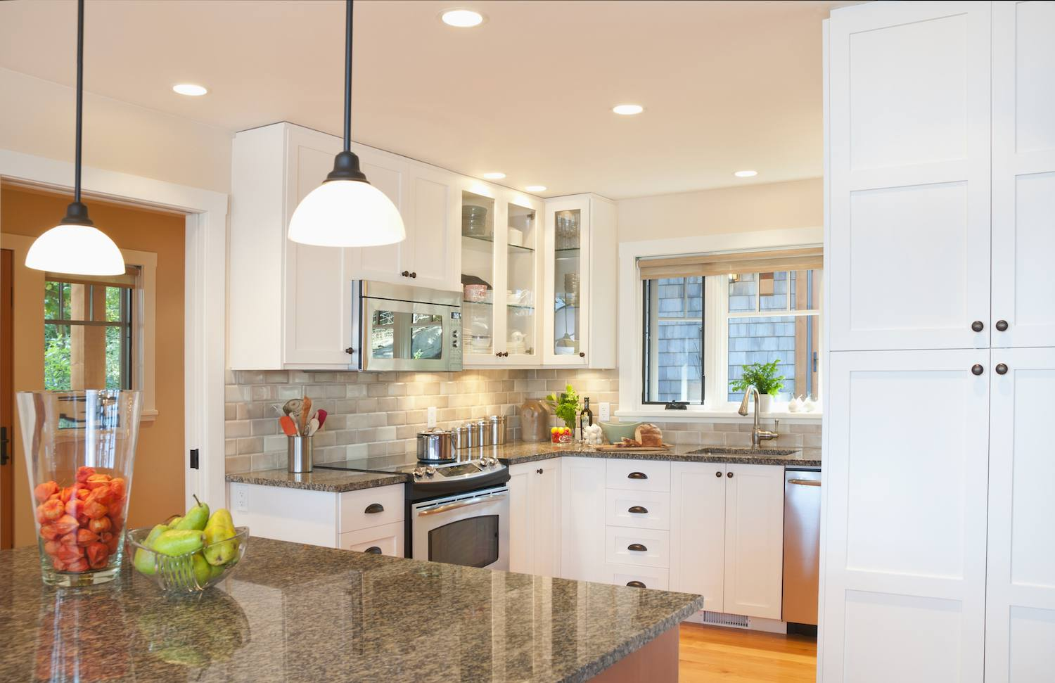 tall kitchen cabinets ideas with hardware