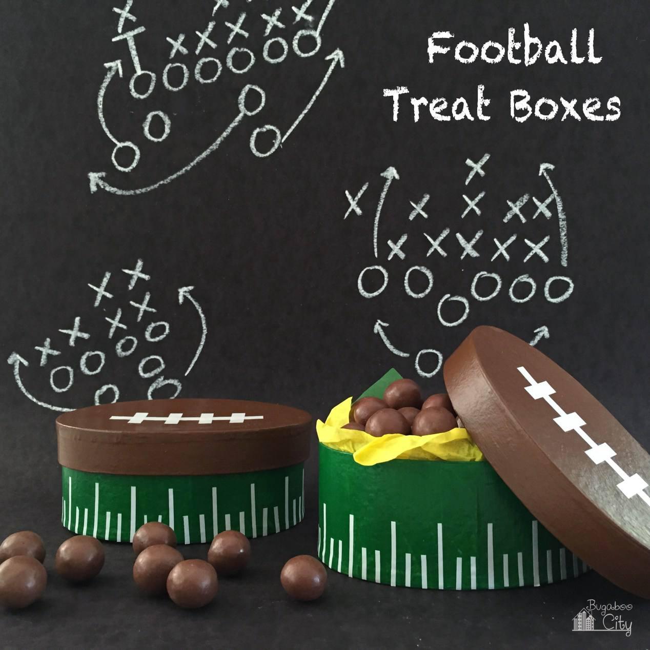DIY Football Treat Box