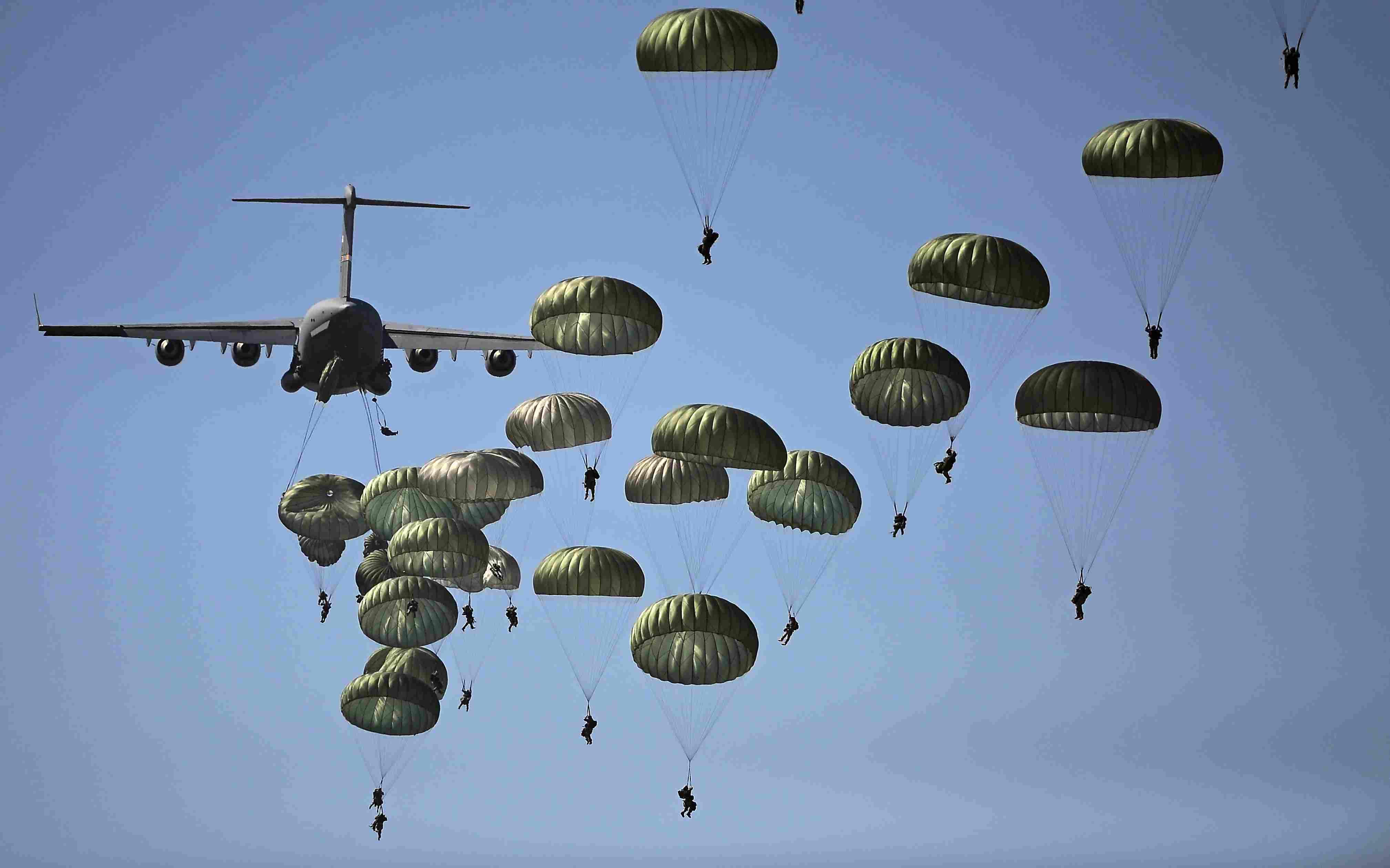 US Army Parachute