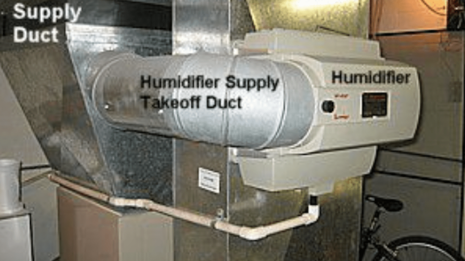 How A Furnace Mounted Home Humidifier Works
