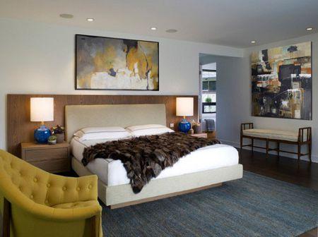Mid-Century Modern Bedroom Decorating Ideas