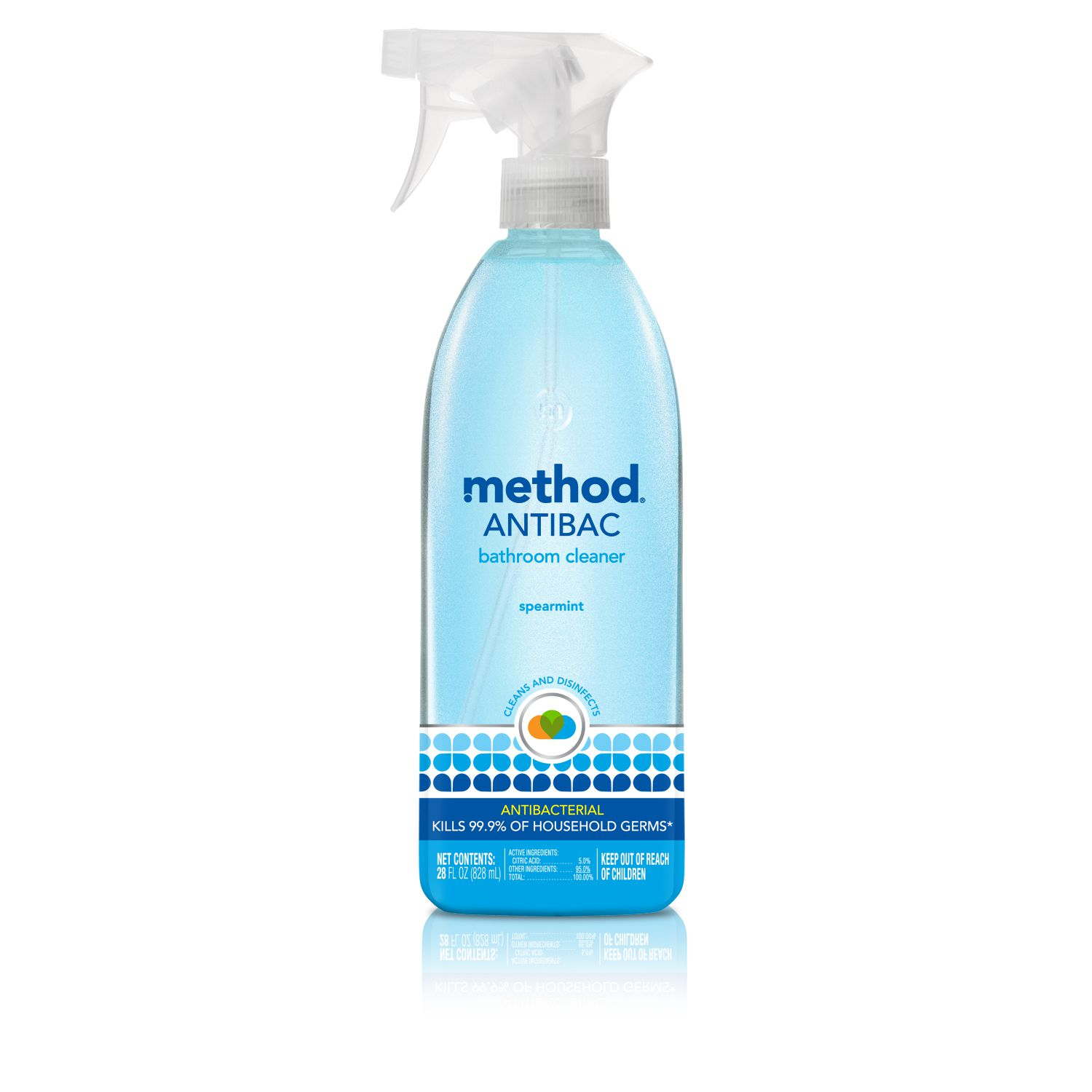 The Top EcoFriendly Bathroom Cleaners - Method bathroom cleaner ingredients