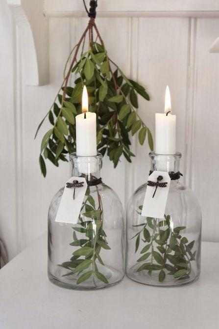 palitos de velas de vegetación flotante