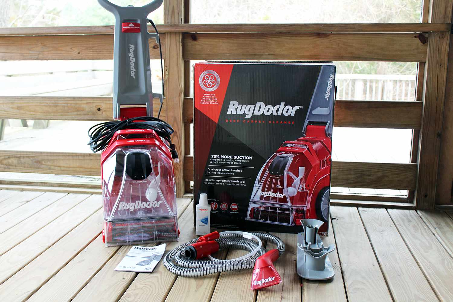 Rug Doctor Deep Carpet Cleaner Review Efficient But Flawed