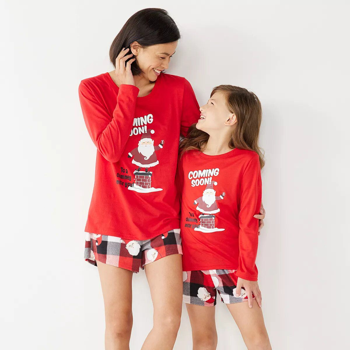 Jammies For Your Families Santa Coming Soon Light Santa Pajama Collection