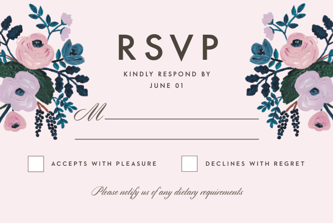 What does rsvp mean on an invitation rsvp example stopboris Gallery