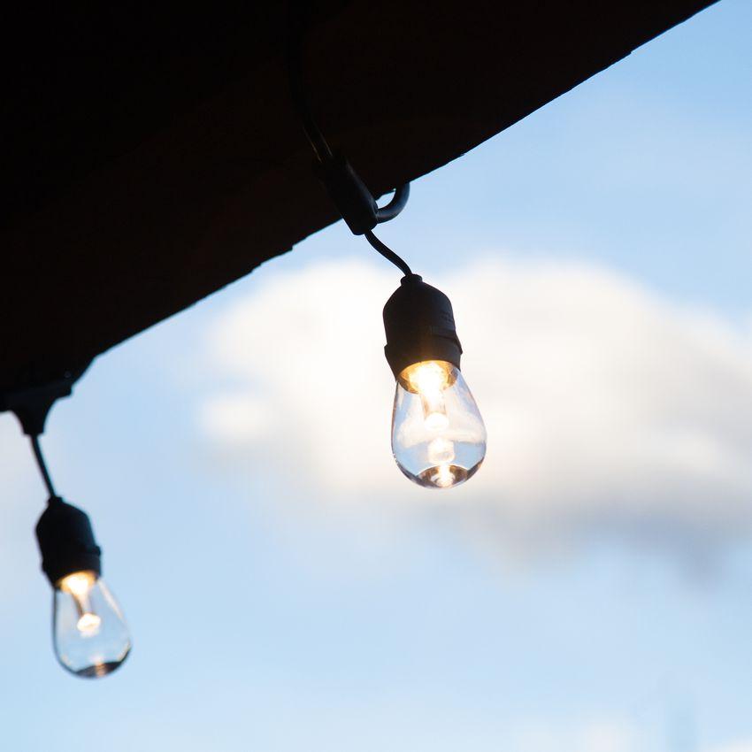 Sunthin 48-Foot Outdoor LED String Lights