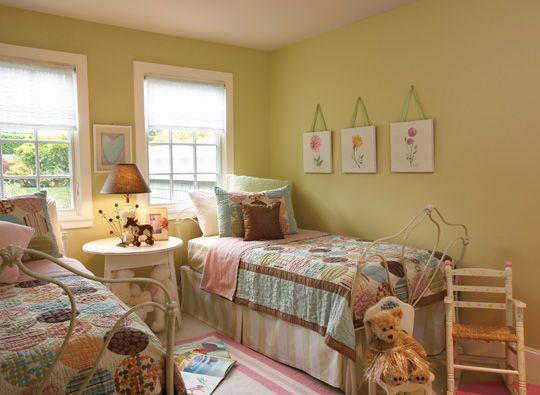 Habitación infantil neutral en cuanto al género