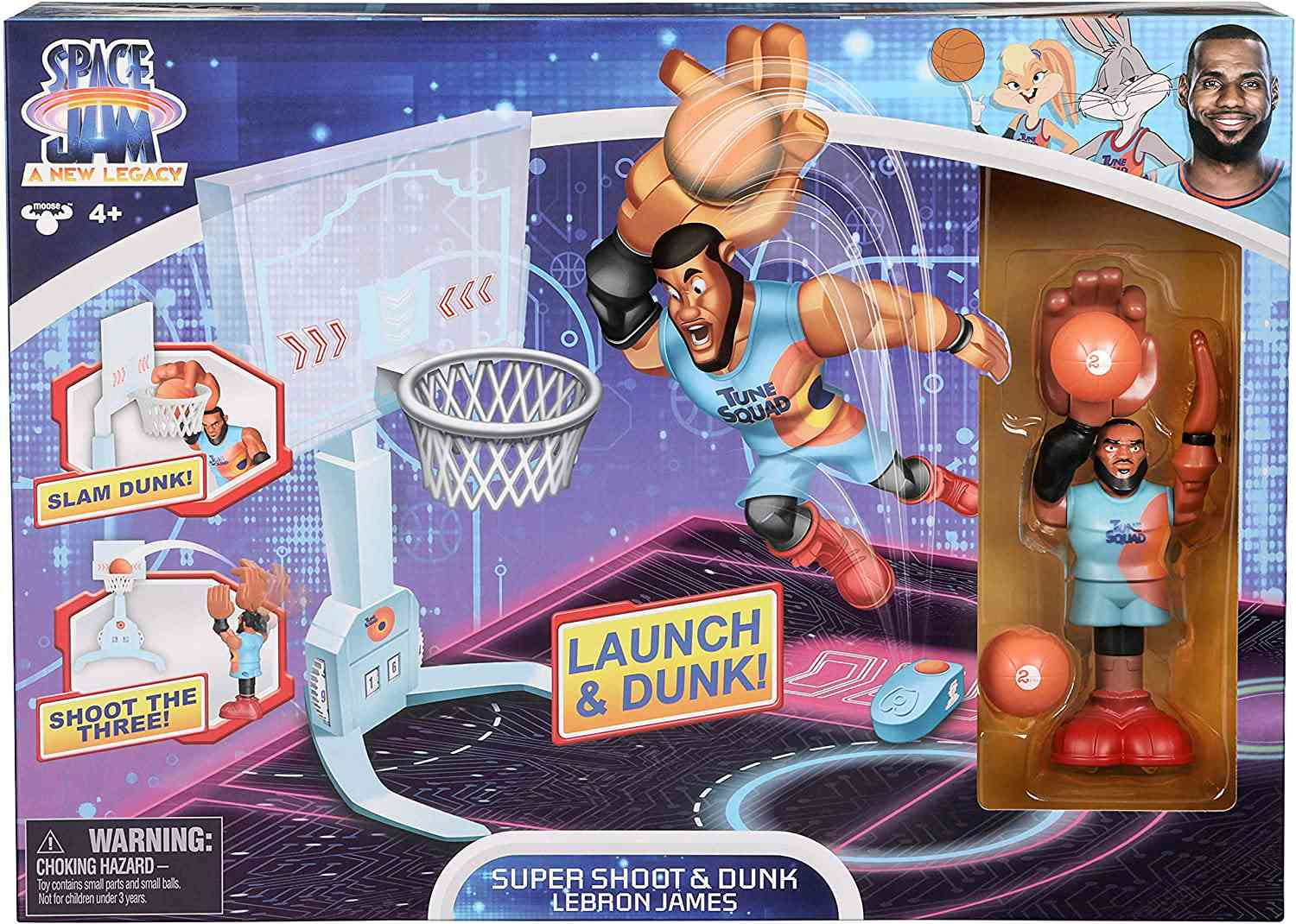 SPACE JAM: A New Legacy Super Shoot & Dunk Playset