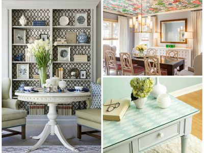 Uses for wallpaper in a living room