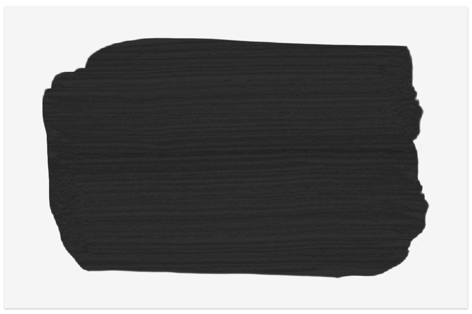 Sherwin-Williams Tricorn Black swatch