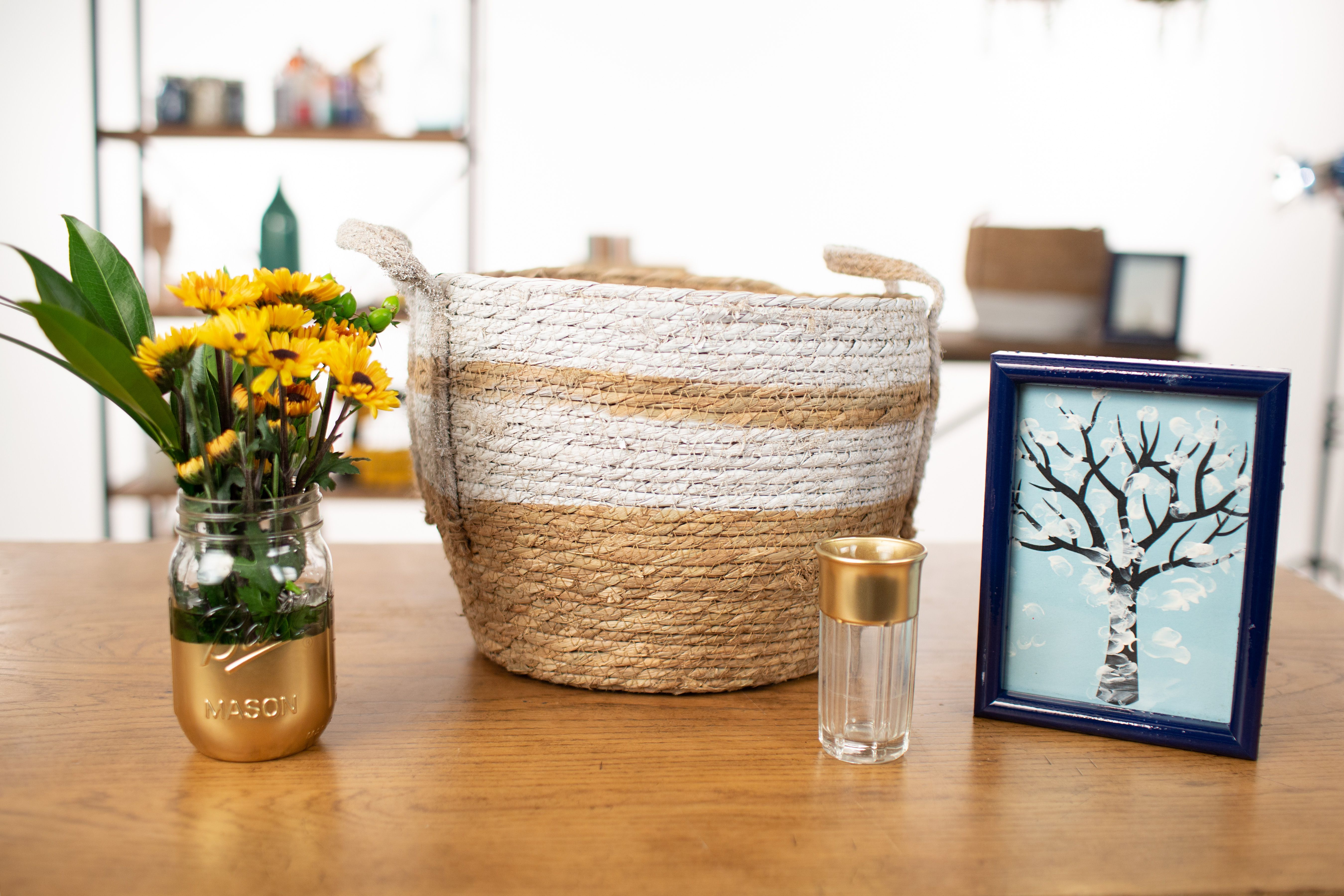 The Best Ways to Spray Paint Thrift Store Finds
