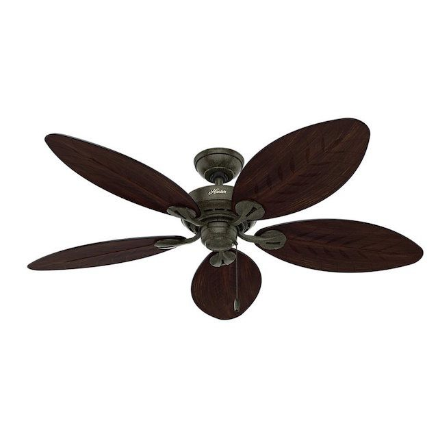 The 7 best ceiling fans to buy in 2018 best outdoor hunter 54098 bayview 54 inch ceiling fan aloadofball Images