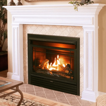 Astounding The 7 Best Gas Fireplace Inserts Of 2019 Beutiful Home Inspiration Papxelindsey Bellcom