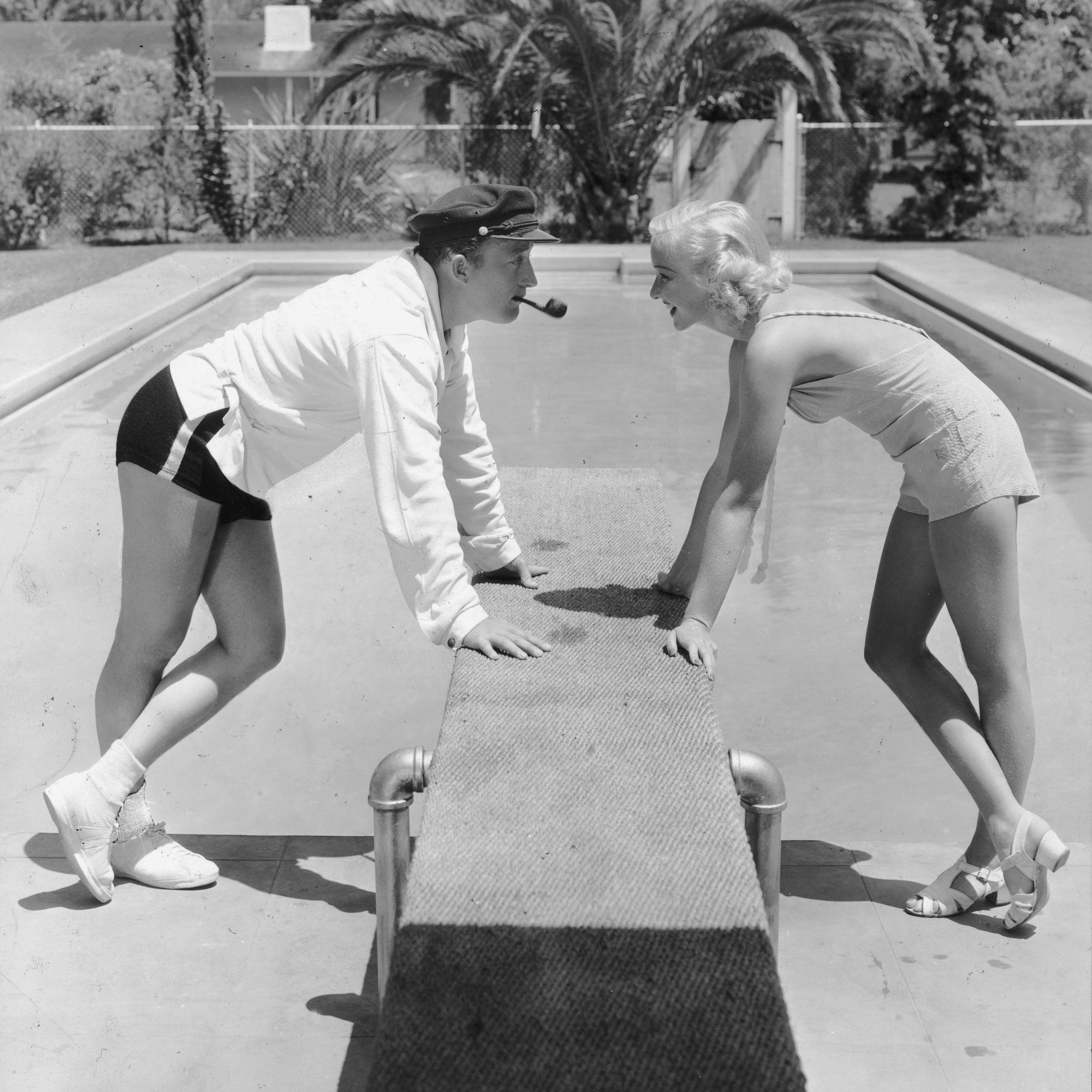 backyard pool bing crosby