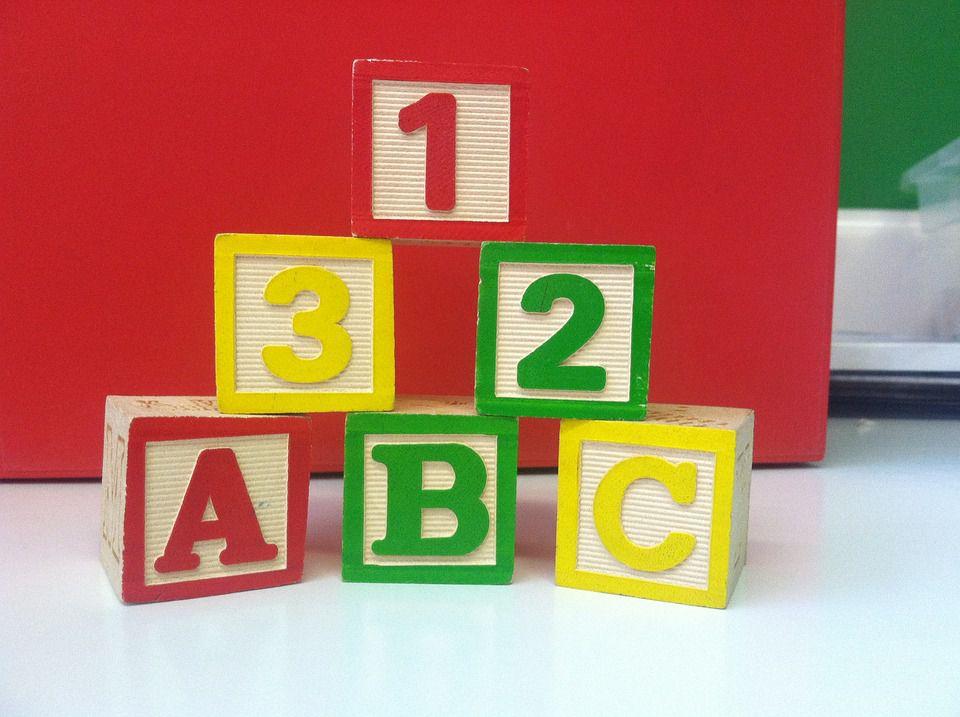 Letter Blocks for Kids