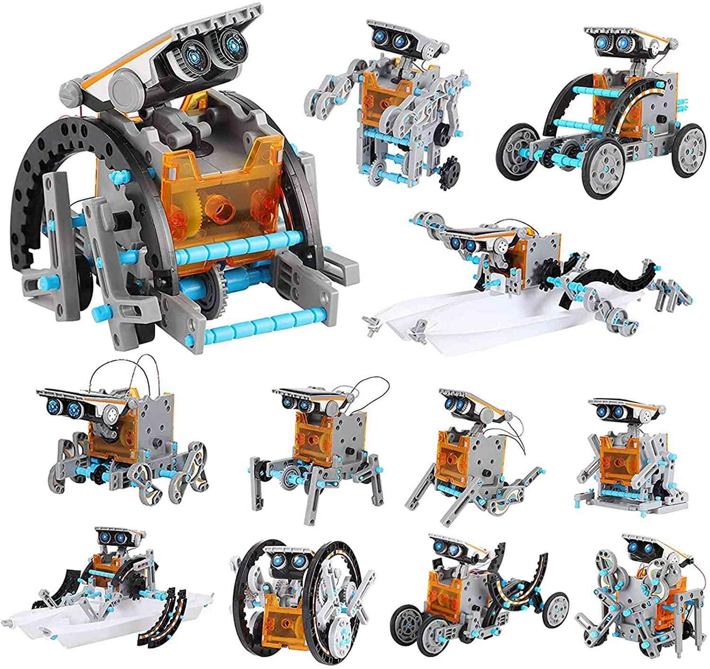 Lucky Doug Solar Robot Kit 12-in-1 Science STEM