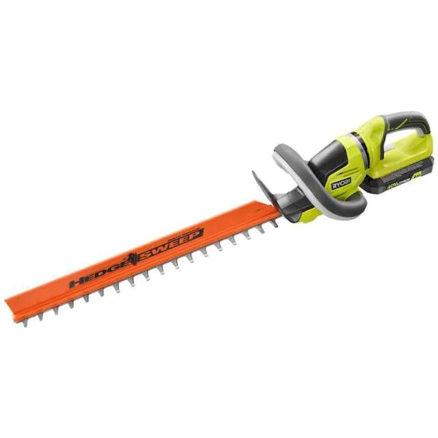 RYOBI 24 in. 40-Volt Lithium-Ion Cordless Hedge Trimmer