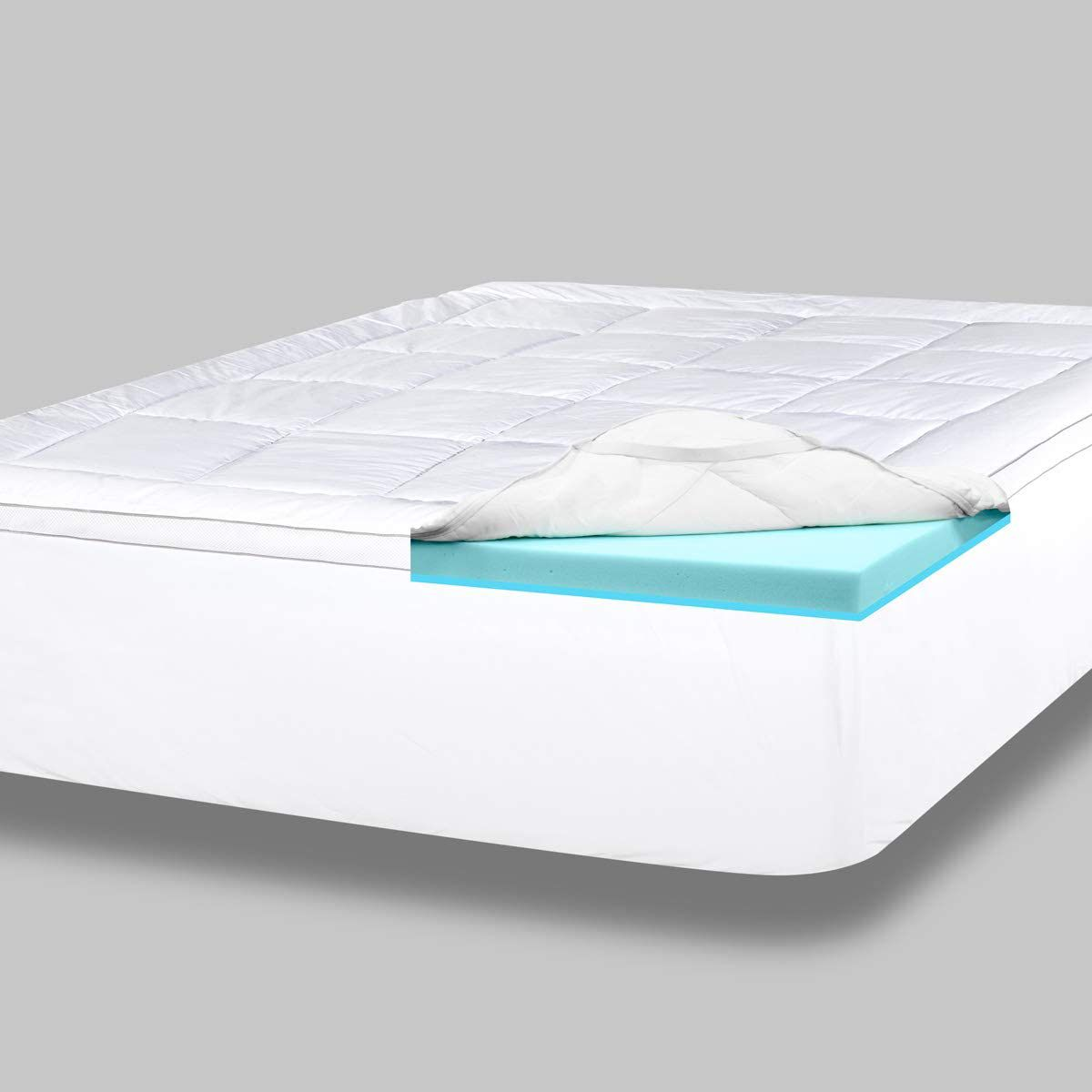 The 8 Best Memory Foam Mattress Toppers Of 2021