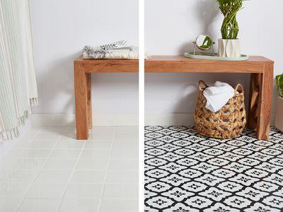Vinyl tile vs. Ceramic Tile