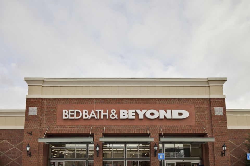 Bed Bath and Beyond store at a shopping mall
