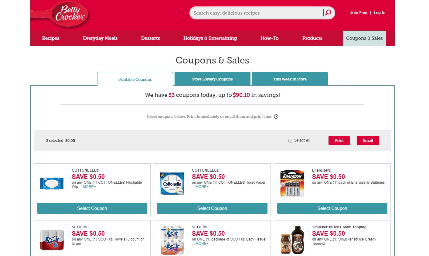 10 Best Places To Find Free Printable Grocery Coupons