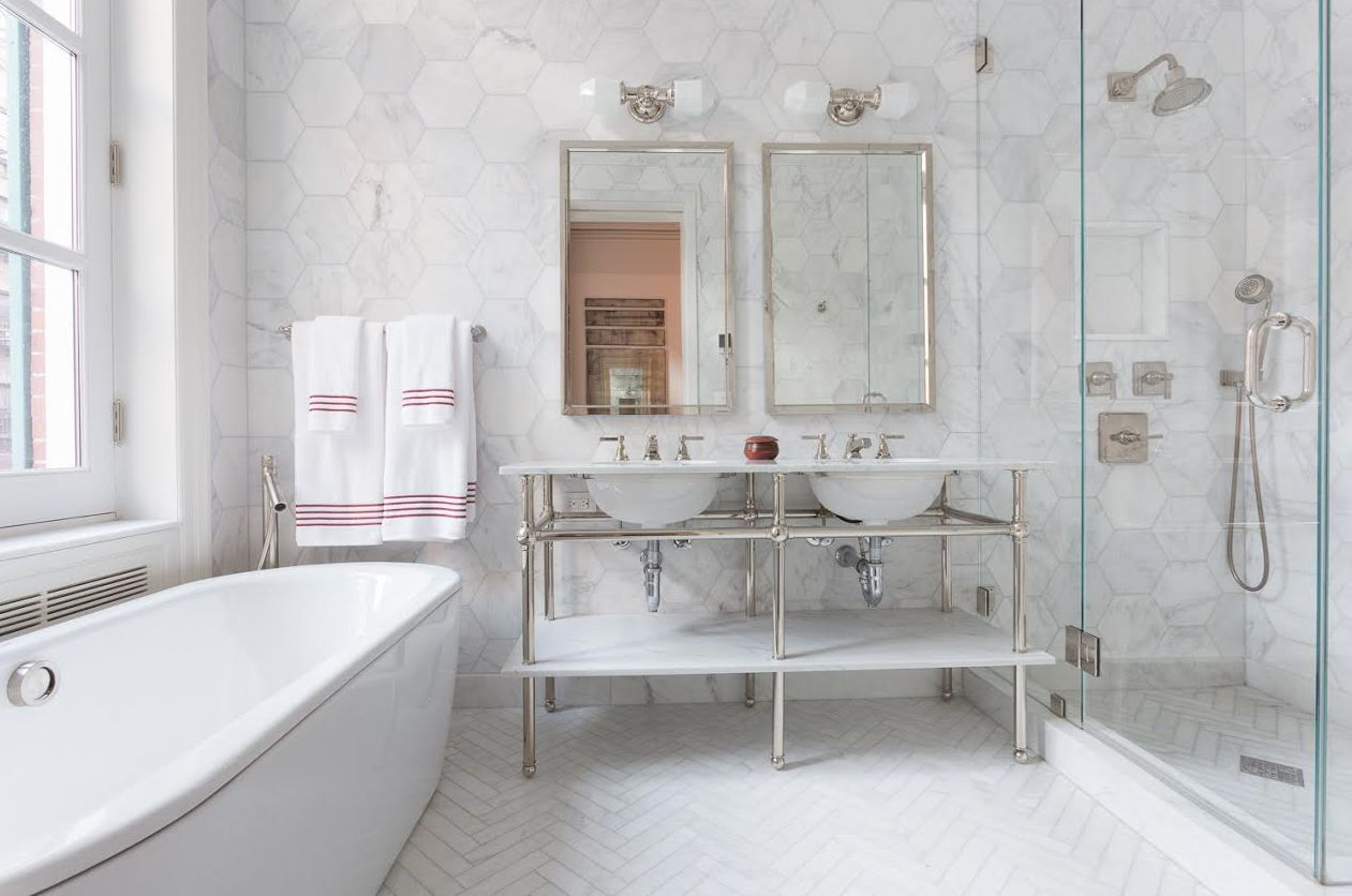 The Best Tile Ideas For Small Bathrooms - Materials for bathroom renovation