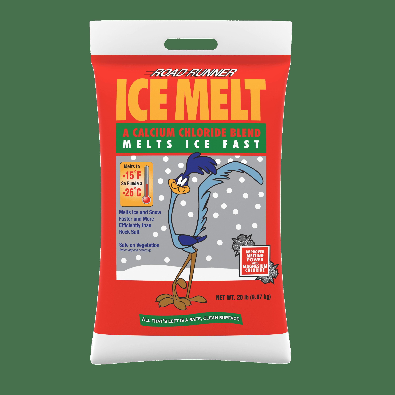 Road Runner Ice Melt Calcium Chloride Blend