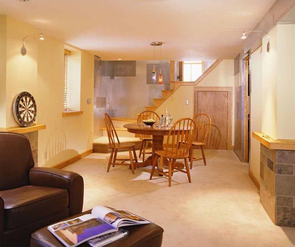Laminate Flooring In A Basement Setting
