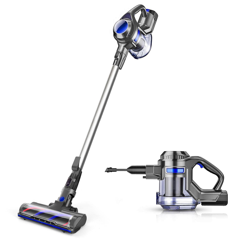 MOOSOO Cordless Vacuum 4-in-1 Lightweight Stick Vacuum Cleaner