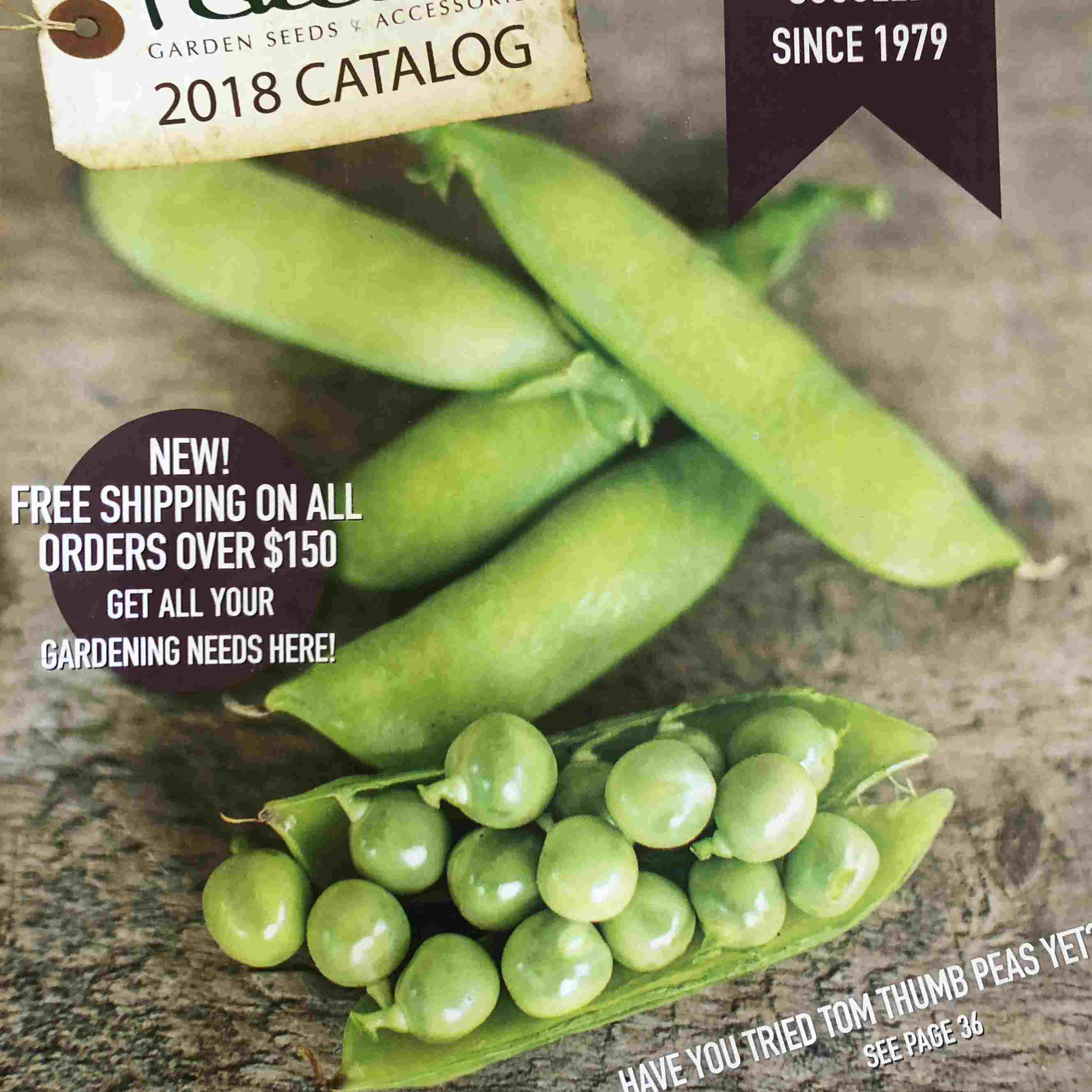 El catálogo de semillas The Pinetree Garden Seeds 2018