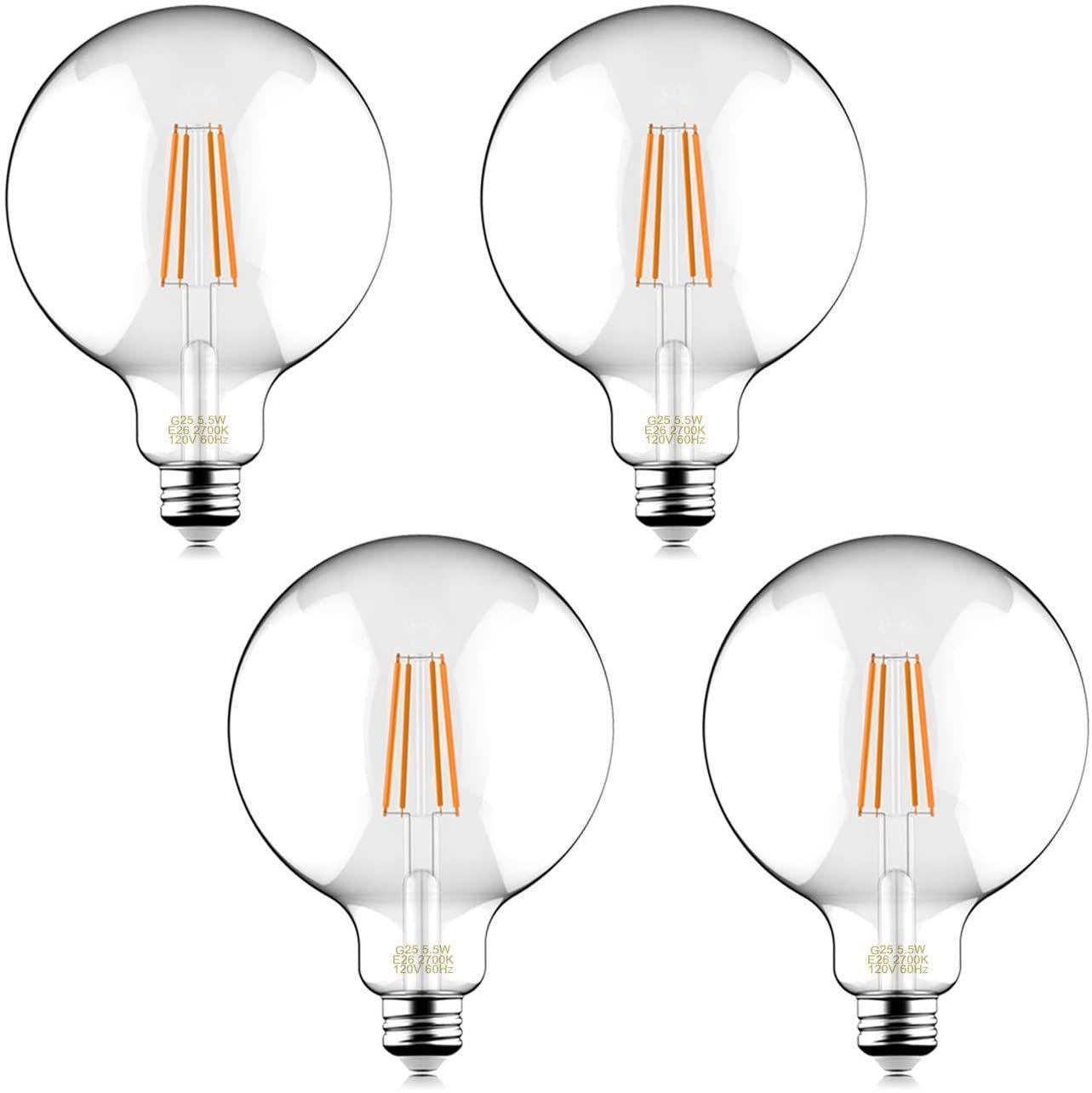 G25 LED Edison Bulb