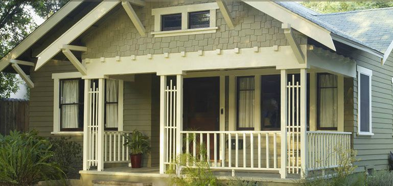 Craftsman home colors exterior craftsman house plans medium size.