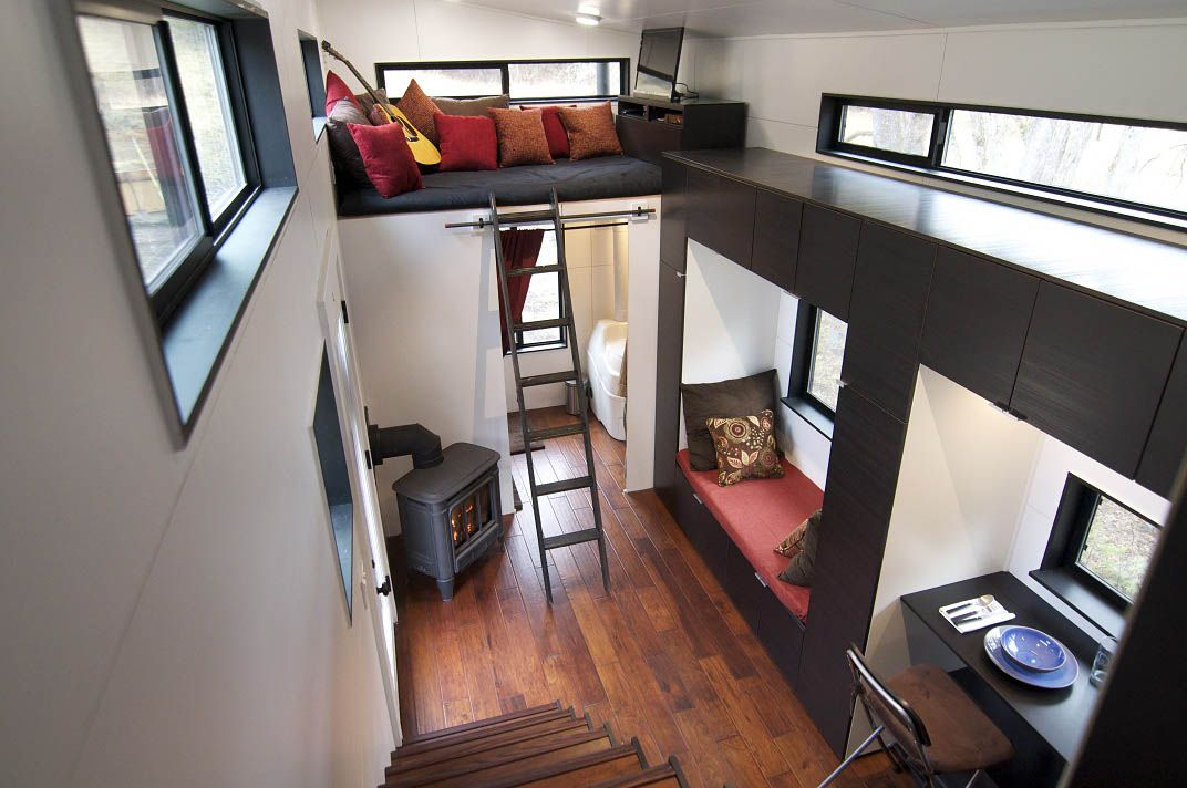 Tiny House Build Interior