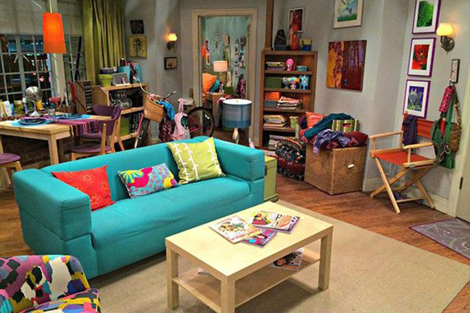 Penny's apartment on the Big Bang Theory