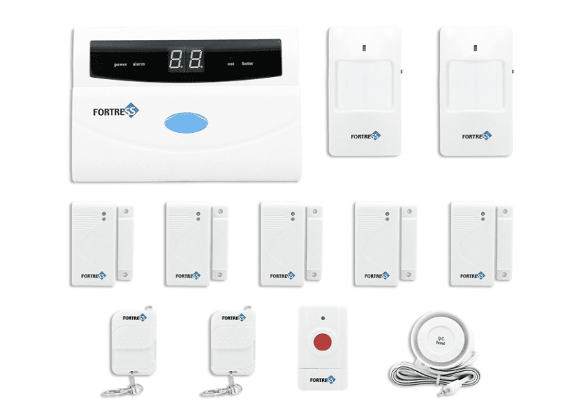 Fortress Security Tm S02 A Wireless Home And Business Alarm System