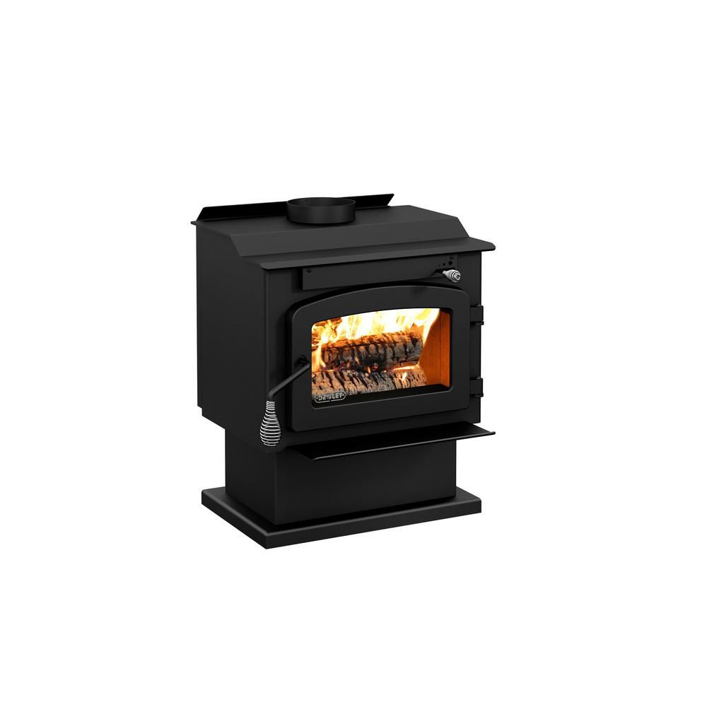 Best For Small Homes Drolet Pyropak 22 In Wood Stove 1000 Sq Ft