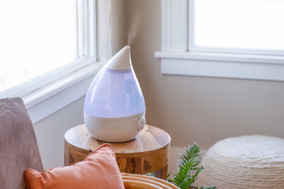humidifier in a living room