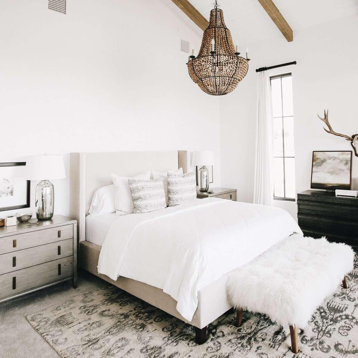 All-White Bedding