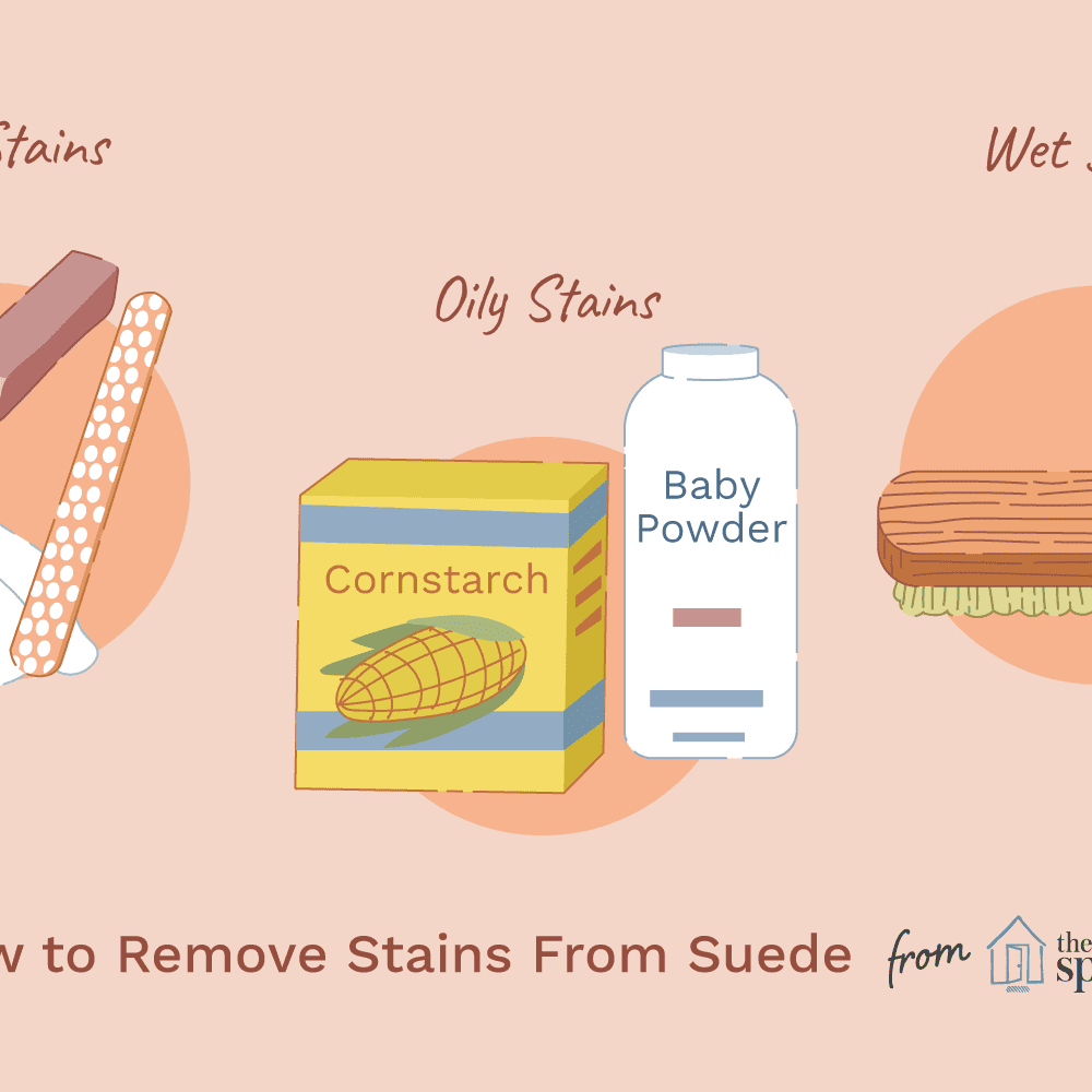How To Remove Stains From Suede Shoes Clothes And Furniture