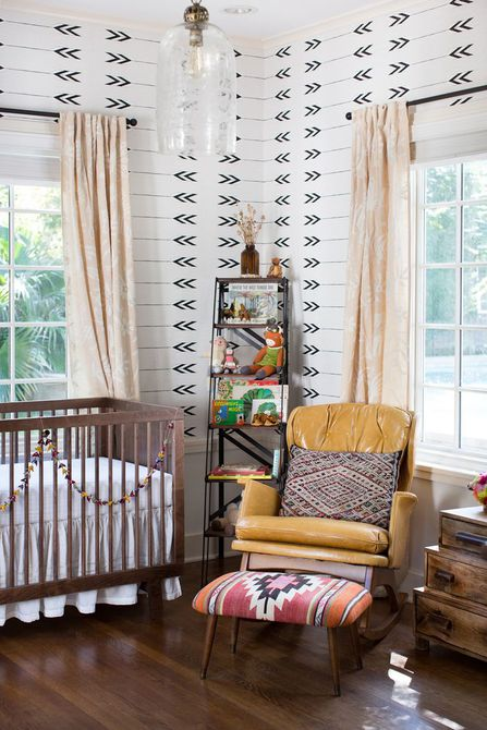 Tribal Wild themed nursery