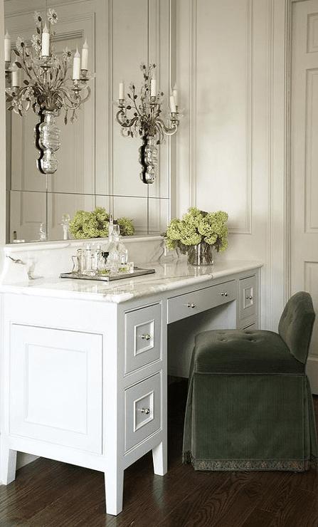 glamorous bathroom vanity