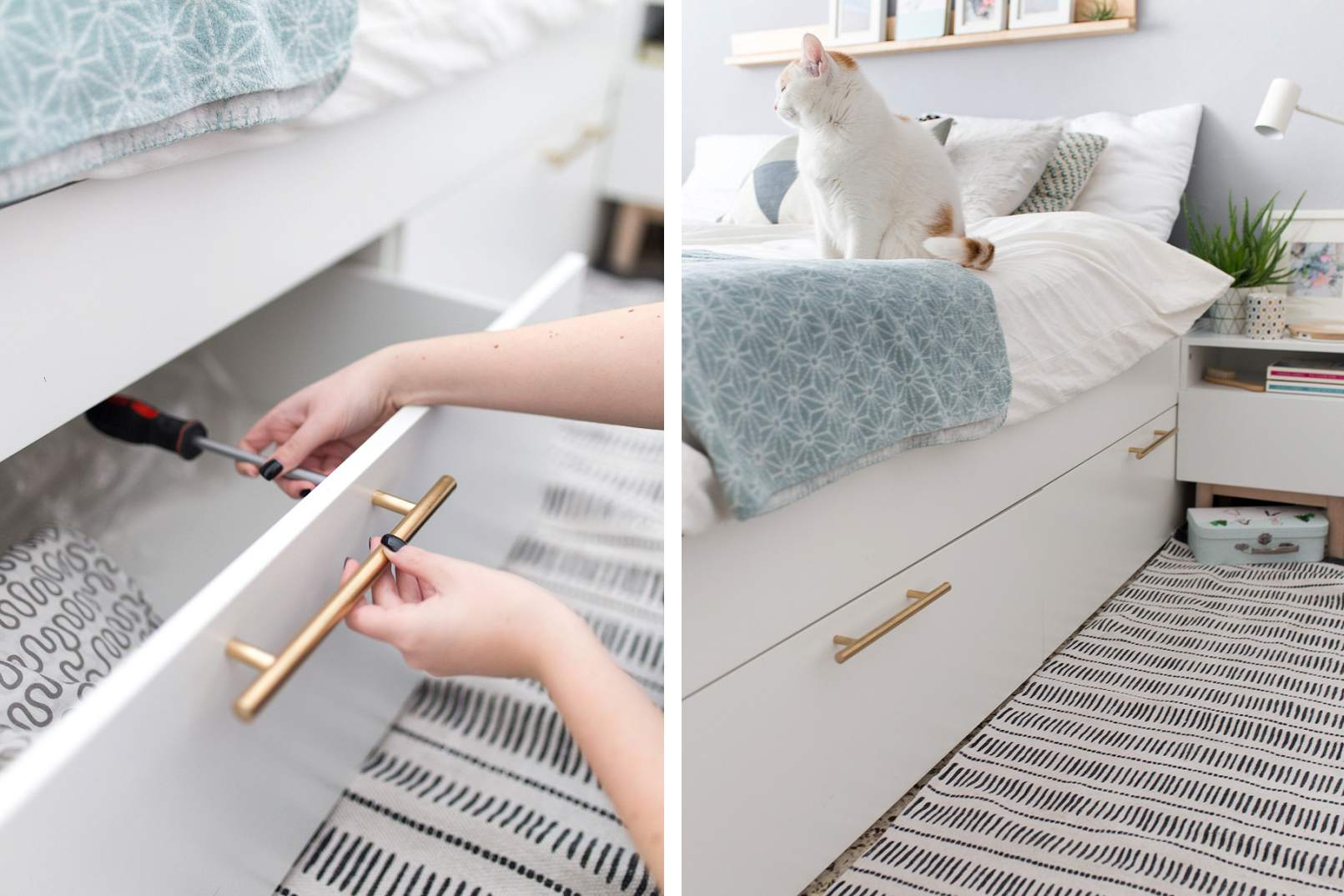 ikea storage bed hack. Interesting Hack Inside Ikea Storage Bed Hack F