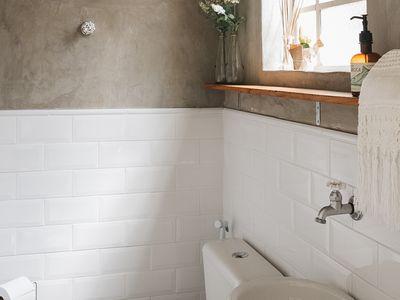 tileboard in a bathroom
