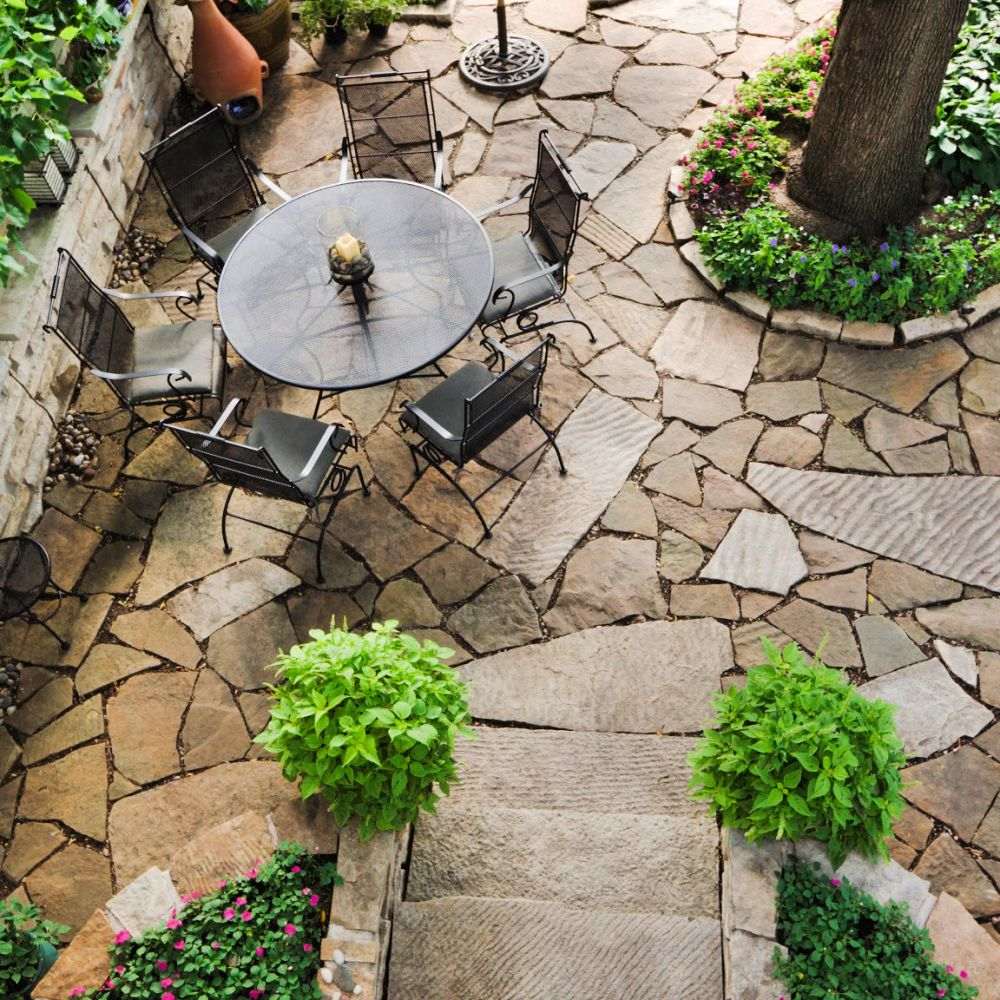 How To Plan And Design A Flagstone Patio And Walkway