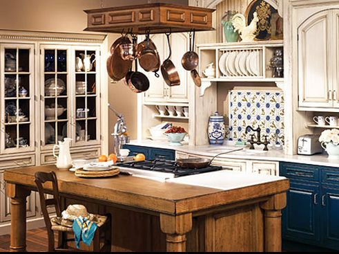 Beautiful Country Kitchen Cabinet Colors
