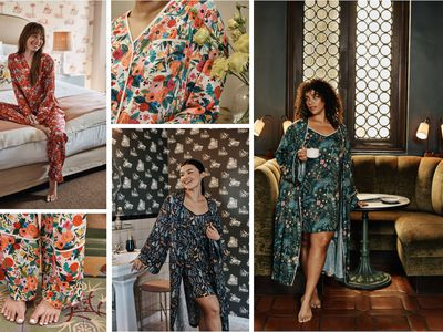 Rifle Paper Co. and Summersalt's new sleepwear collection